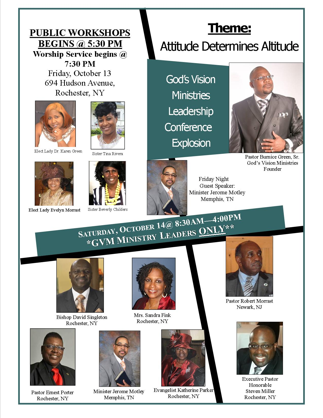 God's Vision Ministries | Failure is not an option